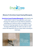 Carpet Cleaners by EnviroCare Carpet Cleaning Minneapolis