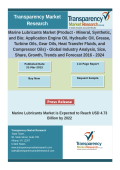 Marine Lubricants Market  - Global Industry Analysis ,Share,Size,Trends  2016 - 2024