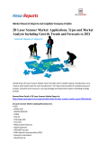 2D Laser Scanner Market Applications, Types and Market Analysis Including Growth, Trends and Forecasts to 2021