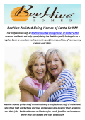 BeeHive Assisted Living Homes in Santa Fe