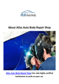 Atlas Auto Body Repair Shop : Northridge Auto Body Shop