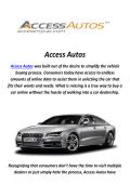 Access Autos : Car Broker in Los Angeles, CA