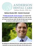 Nathan Brooks DDS - Dentures in Cincinnati, OH