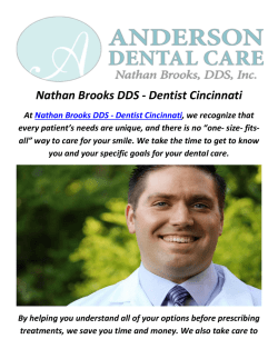 Nathan Brooks DDS - Dentures in Cincinnati, OH