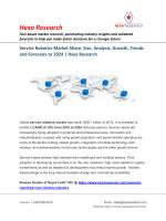 Service Robotics Market Trends and Forecasts, 2024