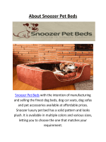 Buy Snoozer Luxury Pet Beds : Call Us 1-888-942-6626