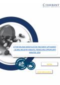 Attention-bias Modification Treatment App Market