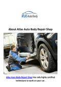 Atlas Auto Body Repair Shop - Chatsworth Auto Body Shop