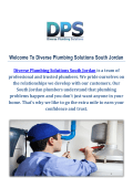 Water Heater Repair in South Jordan by Diverse Plumbing Solutions