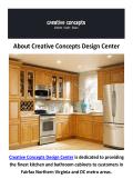 Creative Concepts Design Center - USA Cabinets in Fairfax, VA
