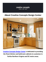 Creative Concepts Design Center - USA Cabinets in Fairfax, VA