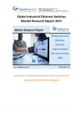 Global Industrial Ethernet Switches Market Research Report 2017