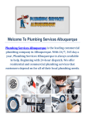 Best Plumbing Company in Albuquerque, NM