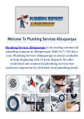 Best Plumbing Company in Albuquerque, NM