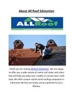 Roofing Companies In Edmonton | 780-903-1122