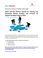 South America Defense Spends on Training and Simulation Market Analysis and Forecast by Segment & Region 2016 to 2024