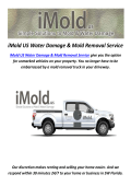 iMold US Water Damage Repair in Fort Myers