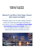 Best Workers Compensation Lawyers : Law Office of Tawni Takagi