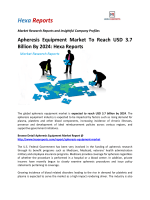 Apheresis Equipment Market To Reach USD 3.7 Billion By 2024 Hexa Reports