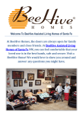 Santa Fe Assisted Living : BeeHive Assisted Living Homes