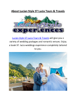 Book ST. Lucia Weddings At Lucian Style ST Lucia Tours & Travels