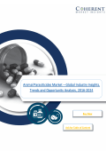 Animal Parasiticides Market – Global Industry Insights 2024