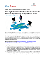 Telco Digital Transformation Market Study with Growth Drivers Of Digital Services, Strategies & Case Studies