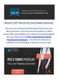 OCP Termite & Pest Control in Pasadena CA
