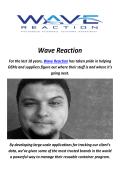 Wave Reaction : SKU Analysis