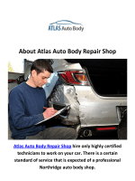 Atlas Accident Repair in Northridge, CA