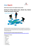 Ducting & Venting Market Share, Market Size, Market Trends and Analysis 2016-2021