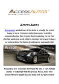 Access Autos : Buy Car in Los Angeles, CA