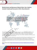 Bioelectronics and Biosensors Market Analysis and Forecasts to 2024