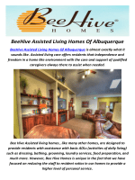 BeeHive Assisted Living Homes in Albuquerque, NM