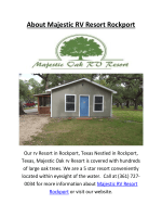 Majestic RV Resort In Rockport, TX