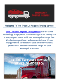 Tow Truck Towing Service in Los Angeles CA
