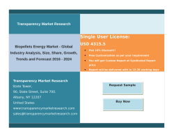 Biopellets Energy Market - Global Industry Analysis, Size, Share, Growth, Trends and Forecast 2016 – 2024