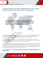 Aerospace Plastic Flame Retardant Market Growth and Forecasts to 2022