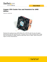 FANC725A Maximize the cooling of your AMD Athlon XP or MP CPU