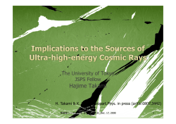 Implications to sources of ultra-high
