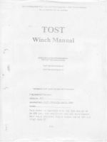 TOST Winch Manual
