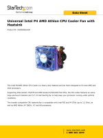 Universal Intel P4 AMD Athlon CPU Cooler Fan with