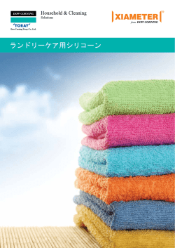 Silicone Additives for Laundry Care Applicatons