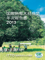 ITTO_ANNUAL_REPORT_2013_JAPANESE