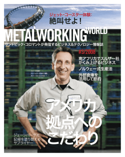 Metalworking World 3/2008