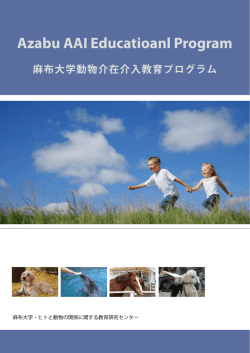Azabu AAI Educational Programパンフレット