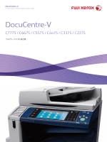 DocuCentre-V C7775 / C6675 / C5575 / C4475 / C3375 / C2275