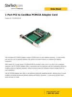 1 Port PCI to CardBus PCMCIA Adapter Card