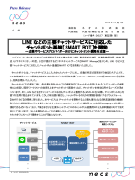 c7651ba8b7083 LINE などの主要チャットサービスに対応した チャットボット基盤 SMART