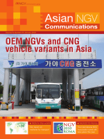 OEM NGVs and CNG vehicle variants in Asia